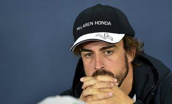 El piloto español Fernando Alonso