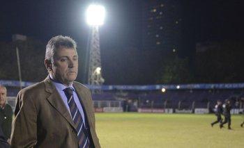 Wilmar Valdez, presidente de la Asociación Uruguaya de Fútbol<br>