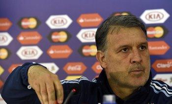 Gerardo Martino. técnico de Argentina