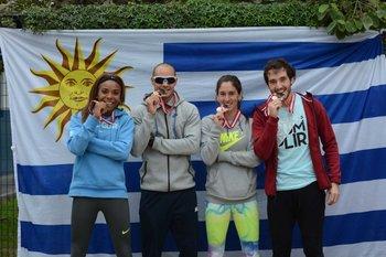 Déborah Rodríguez, Andrés Silva, Pía Fernández y Emiliano Lasa, medallistas en Lima 2015