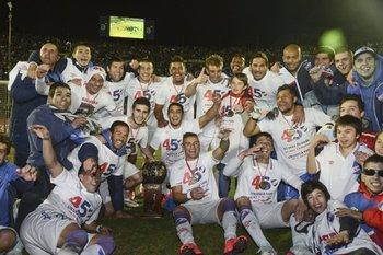 Los campeones recibirán la copa el 5 de agosto.