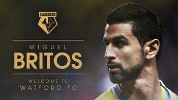 Britos fue anunciado como nuevo jugador de Watford