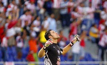 Sebastián Viera, golero, capitán e ídolo de Junior de Barranquilla.