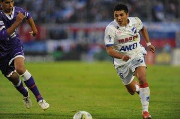 Tabaré Viudez en la temporada 2010/2011