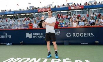 Andy Murray, campeón en Montreal