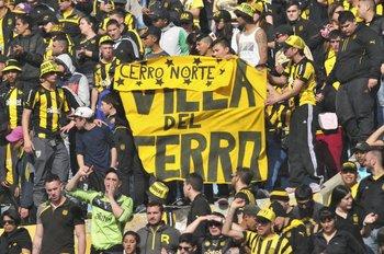 Hinchada de Peñarol