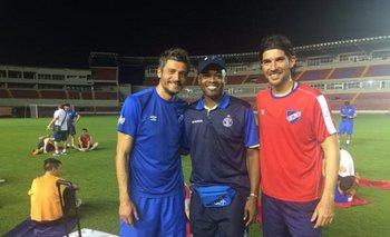 Dely Valdés con Munúa se Abreu