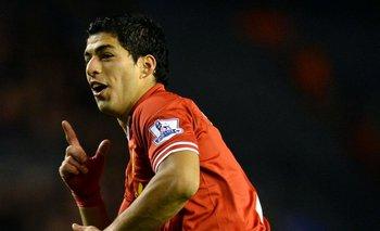 Luis Suárez jugó en Liverpool desde enero de 2011 a junio de 2014