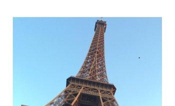 Pablo Marrochi de paseo por París