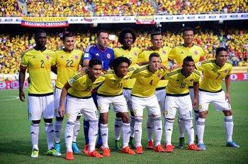 El equipo titular de Colombia que le ganó a Perú
