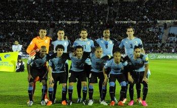 El equipo titular que jugó ante Colombia en el Centenario.