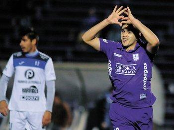 En Defensor Sporting, hizo 30 goles y fue campeón del Apertura 2017