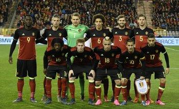El equipo de Bélgica