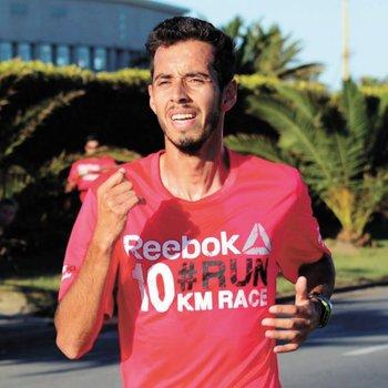 Nicolás Cuestas, ganador de la Reebok 10 k