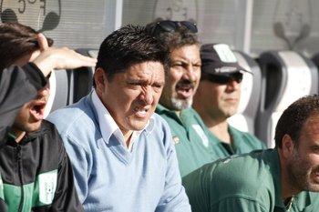 Darío Larrosa, entrenador de Racing<br>