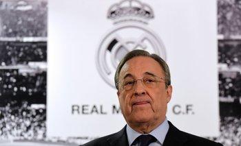 Florentino Përez, presidente de Real Madrid