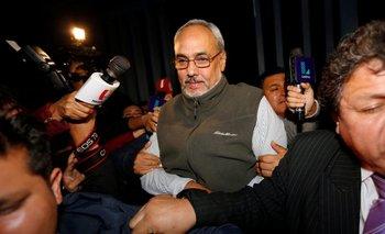 Manuel Burga, ex Presidente de la Federación Peruana también detenido<br>