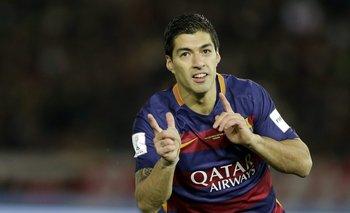 Luis Suárez, doblete en la final del Mundial de Clubes