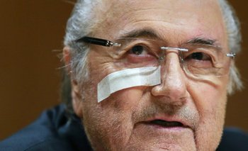Joseph Blatter, expresidente de FIFA<br>