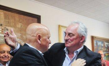 José Luis Rodríguez y Eduardo Ache<br>