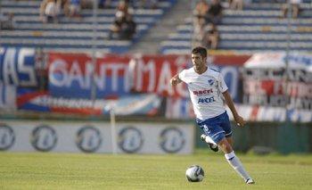 Ernesto Goñi en su etapa como jugador de Nacional