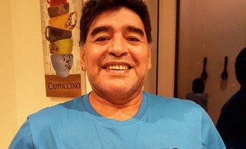 Maradona y su remera