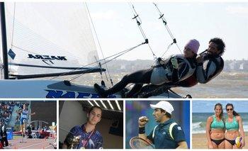 Uruguayos en marcha a Río 2016
