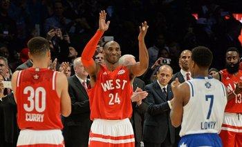 Kobe se fue ovacionado