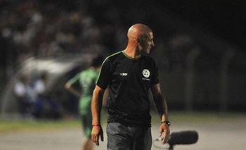 Eduardo Espinel, ex entrenador de Plaza Colonia, actual DT de Santiago Wanderers.<br>