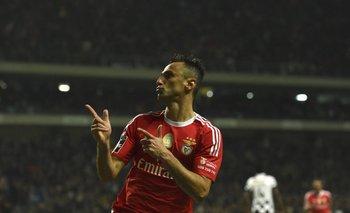 Jonas, el goleador de Benfica que citó Dunga