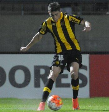 Federico Valverde en acción