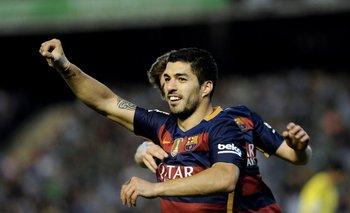 Luis Suárez, y un nuevo gol para Barcelona<br>