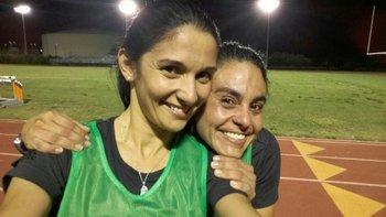 Claudia Umpiérrez tras superar la prueba física en Miami