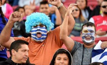 Hinchas de Uruguay