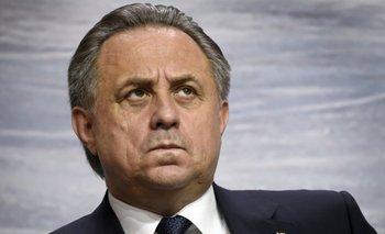 Vitaly Mutko, Ministro de Deportes ruso que agradeció la decisión del COI de no sanacional al Comité Olímpico ruso<br>