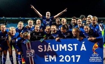 El equipo femenino de Islandia