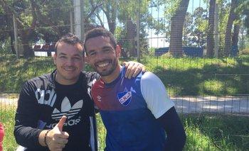 Alexis Viera y Esteban Conde.<br>