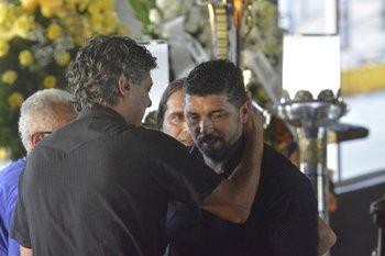 Jorge Goncalvez con Leonardo Ramos