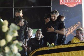 Las condolencias para su hijo, Jorge Goncalvez