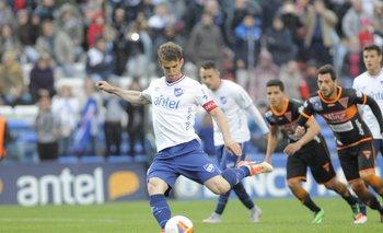 Iván Alonso, de Nacional a River Plate.<br>
