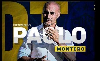 Así recibió Rosario Central a Paolo Montero<br>
