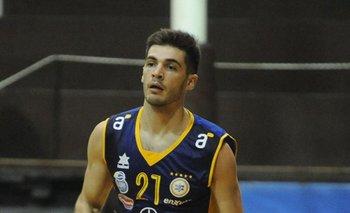 Luciano Parodi, jugador de Hebraica Macabi.<br>