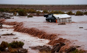La etapa del sábado del Dakar, suspendida por la lluvia<br>