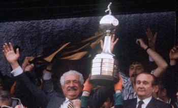 El máximo logro del Cr. Damiani: la Copa Libertadores de América de 1987