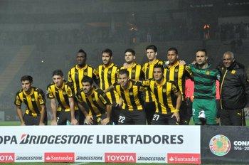 Peñarol en su primer, y de momento único partido, en su estadio del Campeón del Siglo, por Libertadores, fue con victoria: 4-3 ante Sporting Cristal
