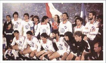 Nacional, y su último éxito, en 1988, tras ganar la final a Newell