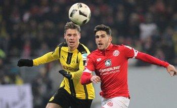 Mainz igualó en su feudo ante Borussia Dortmund<br>
