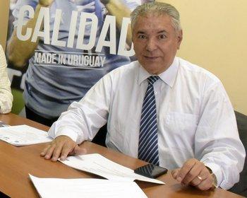 Rafael Peña, jefe de seguridad de la AUF.<br>