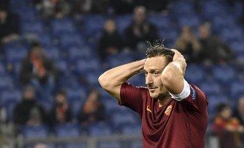 Francesco Totti, de Roma<br>