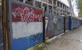 Puerta 3, por donde accedía el público a la Atilio García<br>